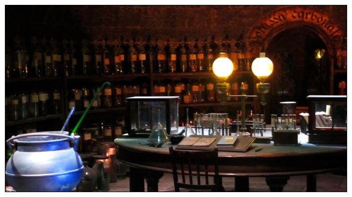 Bureau de Potions ~ Horace Slughorn Potion11