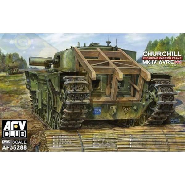 Churchill MK IV AVRE Porte-fascines AFV 1/35 Church10