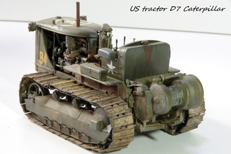 Miniart US tractor D7N 1/35 - Page 2 Imgp6612