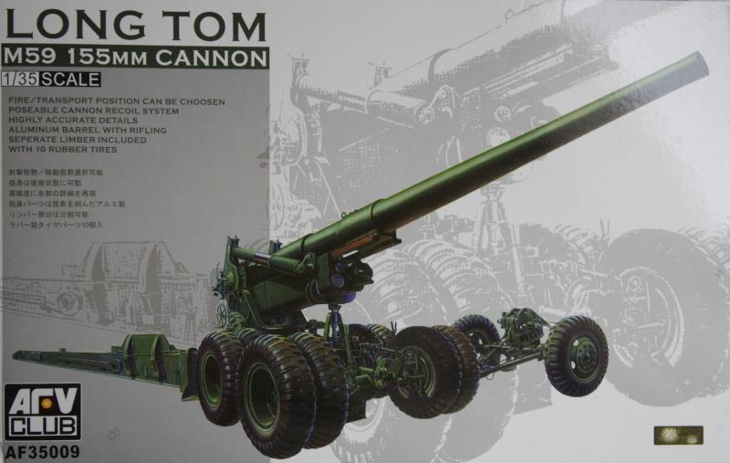 US M 59 Long Tom AFV 1/35 Imgp6614