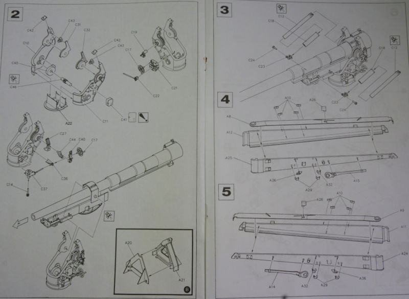 US M 59 Long Tom AFV 1/35 Imgp6621