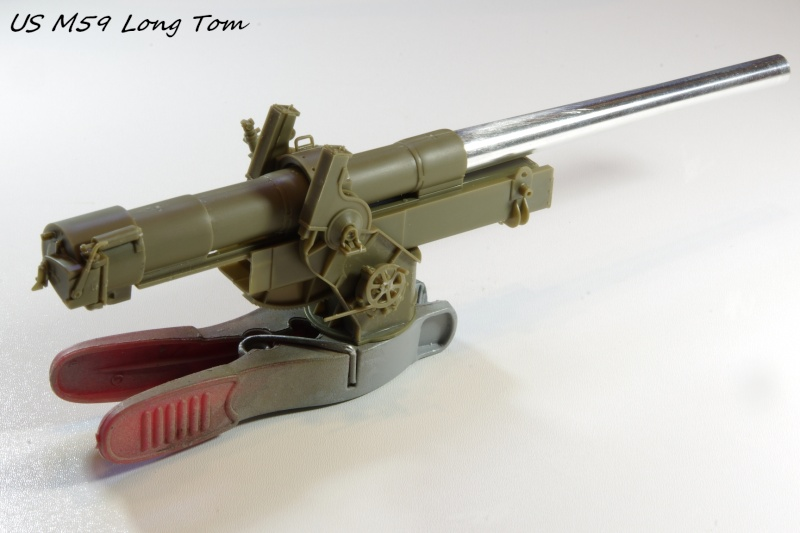 US M 59 Long Tom AFV 1/35 Imgp6626
