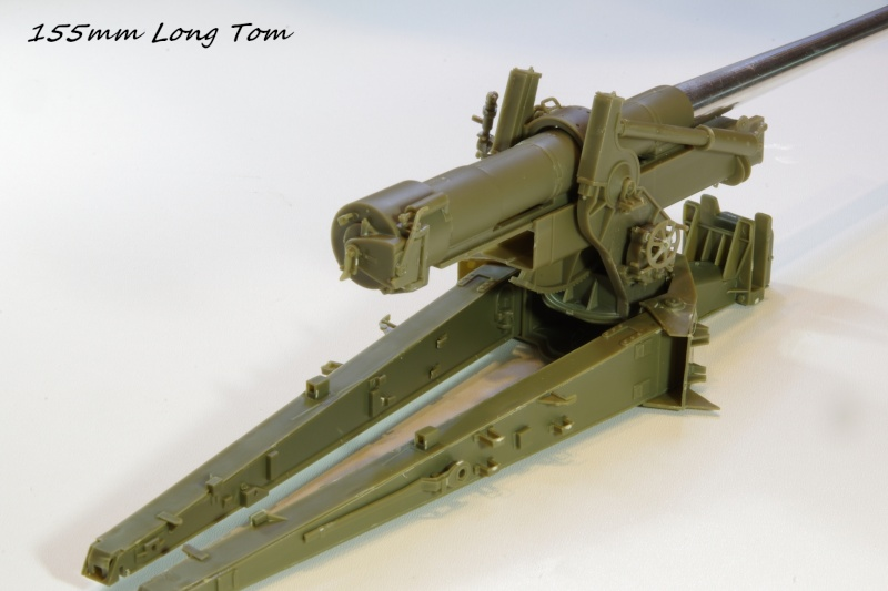 US M 59 Long Tom AFV 1/35 Imgp6630