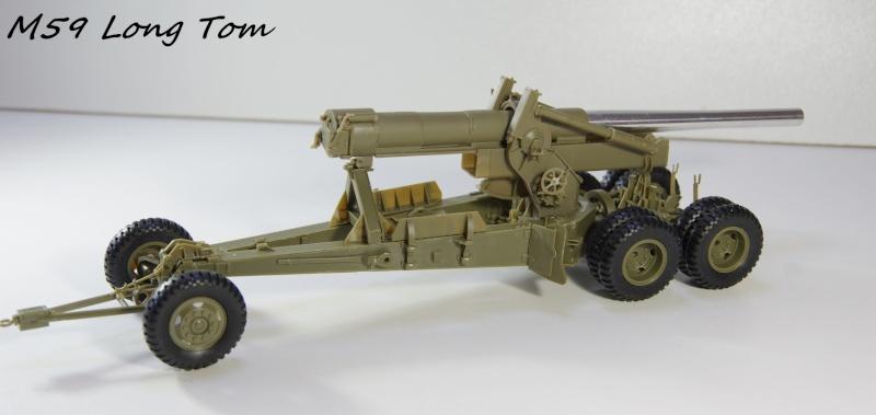 US M 59 Long Tom AFV 1/35 Imgp6631