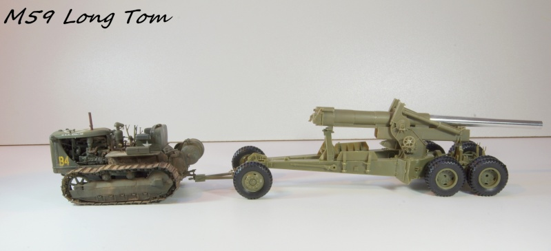 US M 59 Long Tom AFV 1/35 Imgp6633