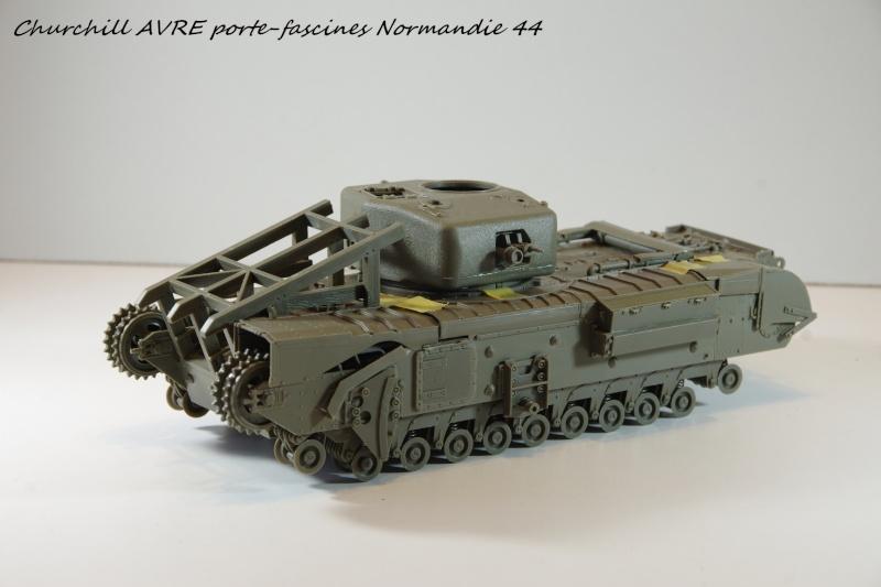 Churchill MK IV AVRE Porte-fascines AFV 1/35 Imgp6634