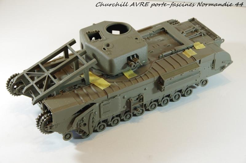 Churchill MK IV AVRE Porte-fascines AFV 1/35 Imgp6635