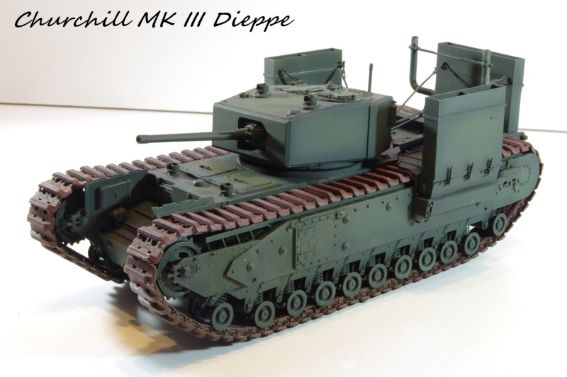 AFV Club Churchill MK III 1942 Dieppe 1/35 Imgp6720