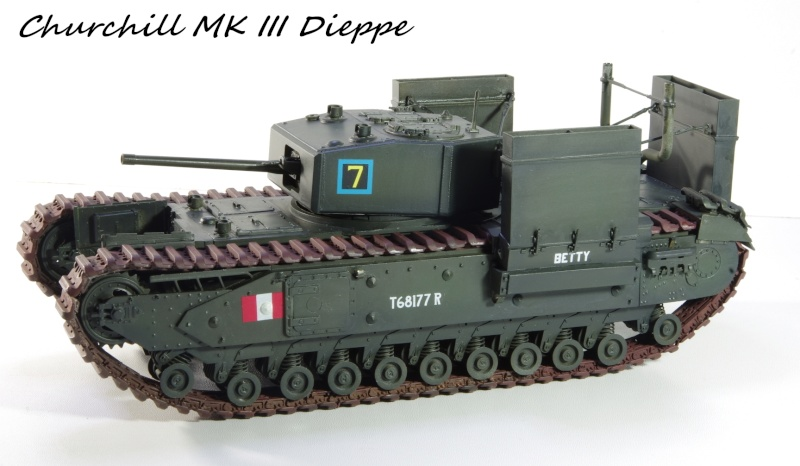 AFV Club Churchill MK III 1942 Dieppe 1/35 Imgp6723