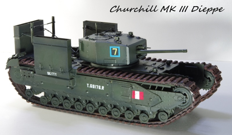 AFV Club Churchill MK III 1942 Dieppe 1/35 Imgp6724