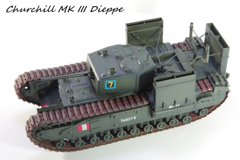 AFV Club Churchill MK III 1942 Dieppe 1/35 Imgp6727