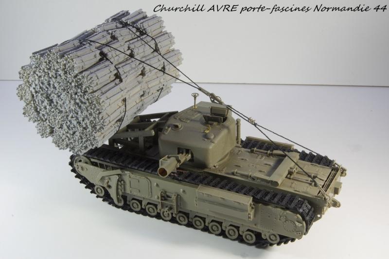 Churchill MK IV AVRE Porte-fascines AFV 1/35 Imgp6743