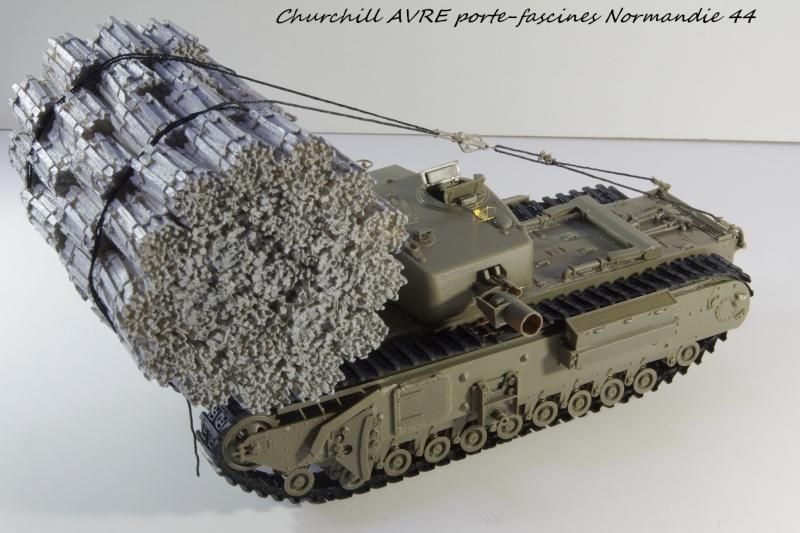 Churchill MK IV AVRE Porte-fascines AFV 1/35 Imgp6744