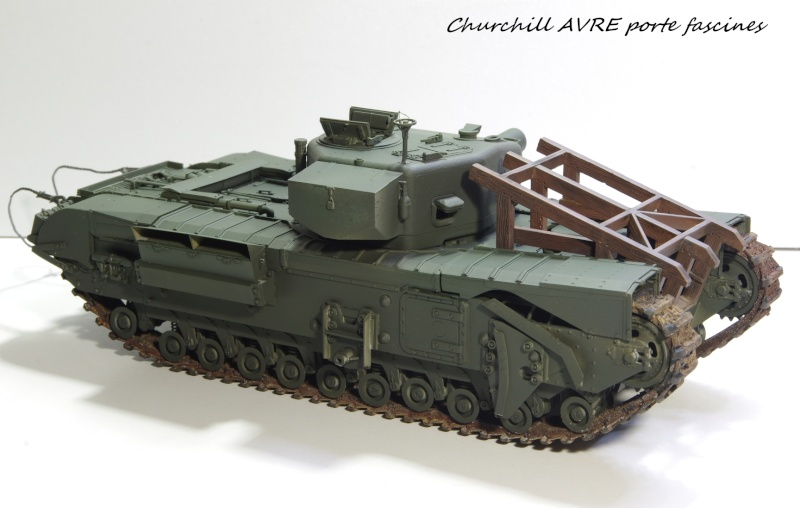 Churchill MK IV AVRE Porte-fascines AFV 1/35 Imgp6763