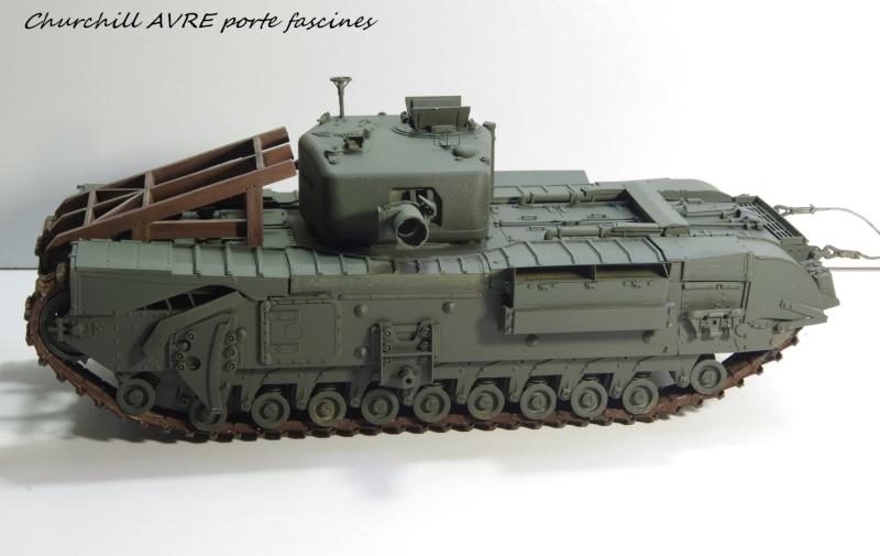 Churchill MK IV AVRE Porte-fascines AFV 1/35 Imgp6764