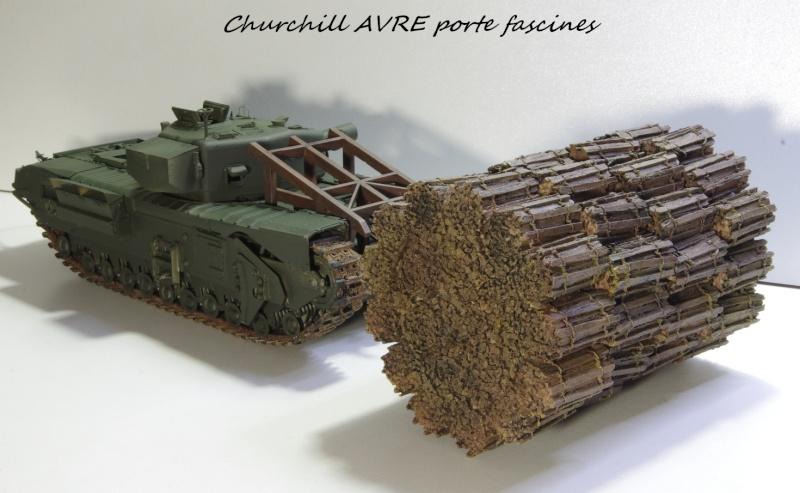 Churchill MK IV AVRE Porte-fascines AFV 1/35 Imgp6766