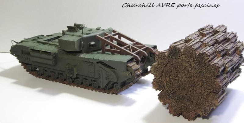 Churchill MK IV AVRE Porte-fascines AFV 1/35 Imgp6767