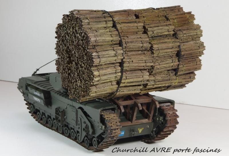 Churchill MK IV AVRE Porte-fascines AFV 1/35 Imgp6768
