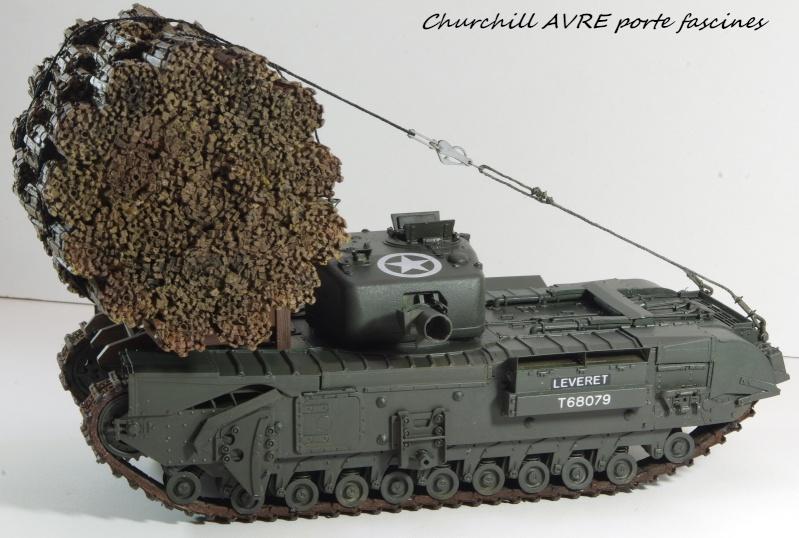 Churchill MK IV AVRE Porte-fascines AFV 1/35 Imgp6769