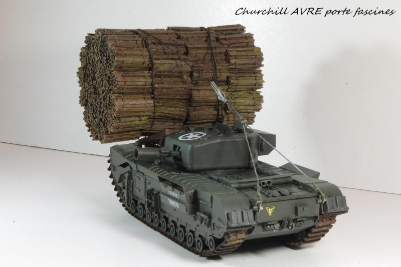 Churchill MK IV AVRE Porte-fascines AFV 1/35 Imgp6770
