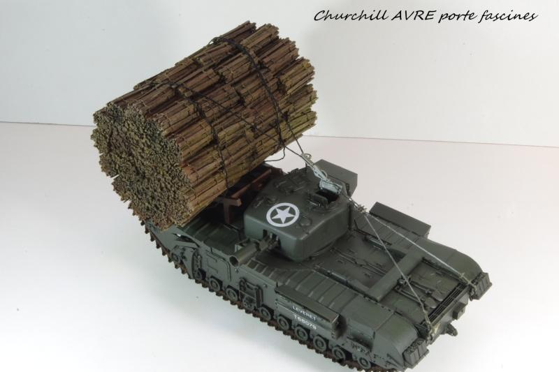 Churchill MK IV AVRE Porte-fascines AFV 1/35 Imgp6810