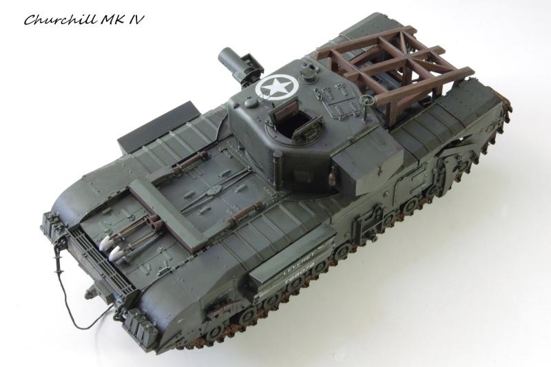 Churchill MK IV AVRE Porte-fascines AFV 1/35 - Page 2 Imgp6814