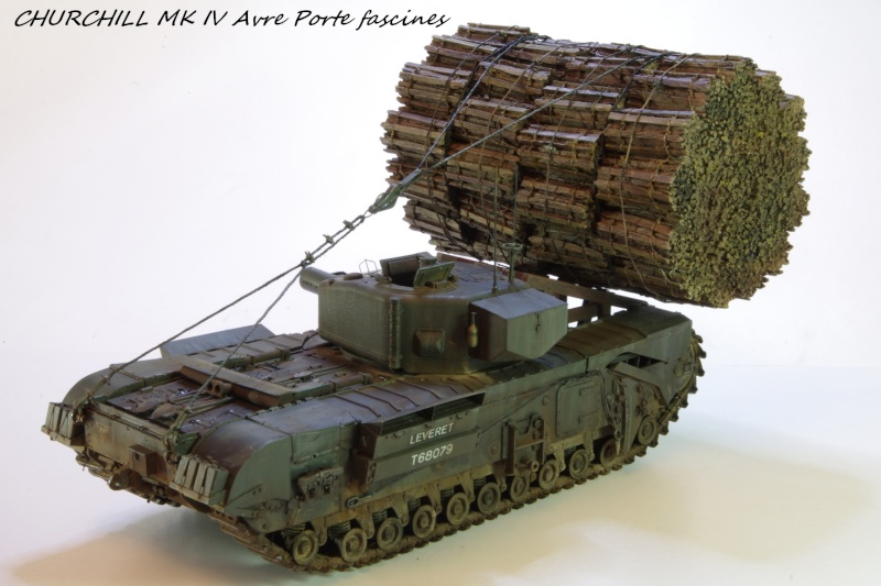 Churchill MK IV AVRE Porte-fascines AFV 1/35 - Page 2 Imgp6816