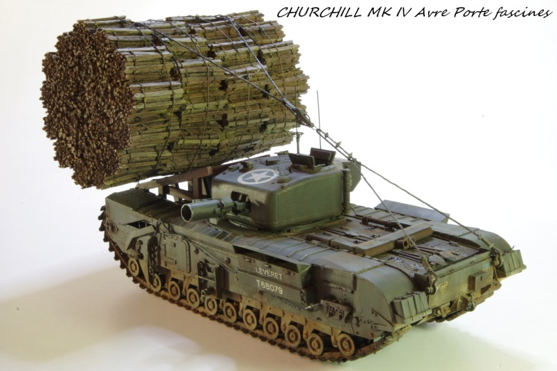 Churchill MK IV AVRE Porte-fascines AFV 1/35 - Page 2 Imgp6818