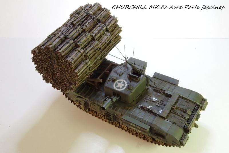 Churchill MK IV AVRE Porte-fascines AFV 1/35 - Page 2 Imgp6819