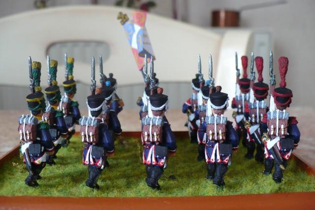 peinture - 18 eme Régiment d'Infanterie de Ligne (1809-1812)[achevé] P1020512