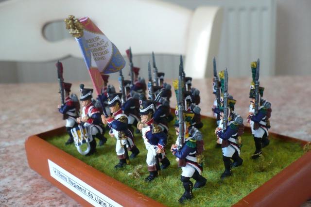 peinture - 18 eme Régiment d'Infanterie de Ligne (1809-1812)[achevé] P1020513