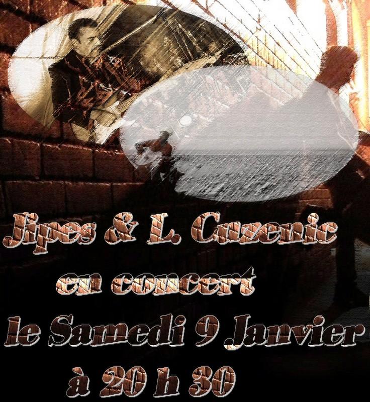 Jipes à Paname avec Lionel Cuzenic Affich10
