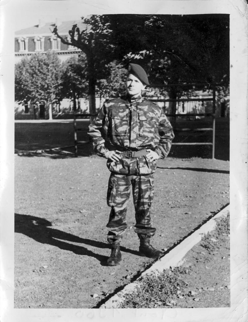 """EOR Bernard MILLET: """"parachuté"""" au 9e RCP, puis Cherchell, puis le 14e RCP, mais... Bernar10"""