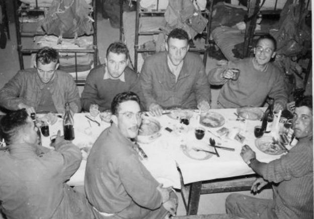 NUIT DE NOËL 1959... EOR Paul Favre Miville,venu et retourné aux paras colos, puis devenu frère Paul Cherch10