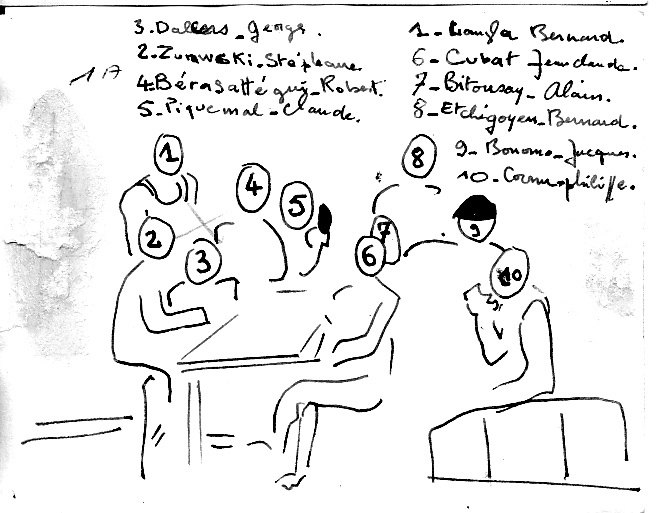 """EOR Bernard MILLET: """"parachuté"""" au 9e RCP, puis Cherchell, puis le 14e RCP, mais... Dans_l11"""
