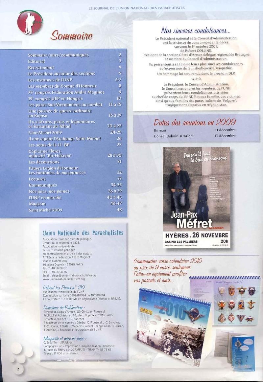 DEBOUT LES PARAS (DLP) revue de l'Union Nationale des Parachutistes Dlp_na11