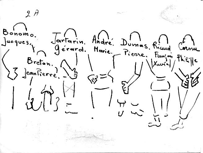 """EOR Bernard MILLET: """"parachuté"""" au 9e RCP, puis Cherchell, puis le 14e RCP, mais... Groupe11"""