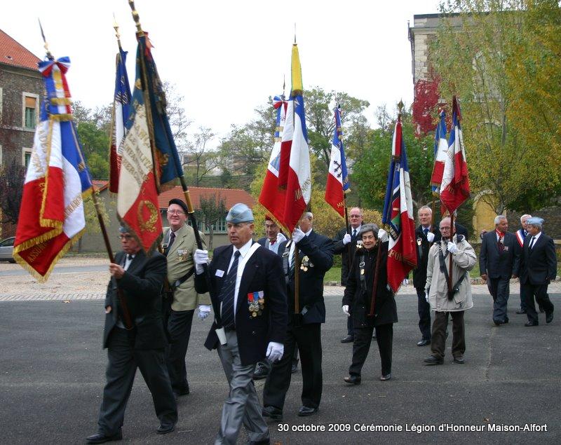 Cérémonie remise Légion d'Honneur Maison-Alfort 30 octobre 2009 Img_4910