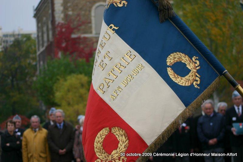 Cérémonie remise Légion d'Honneur Maison-Alfort 30 octobre 2009 Img_4912