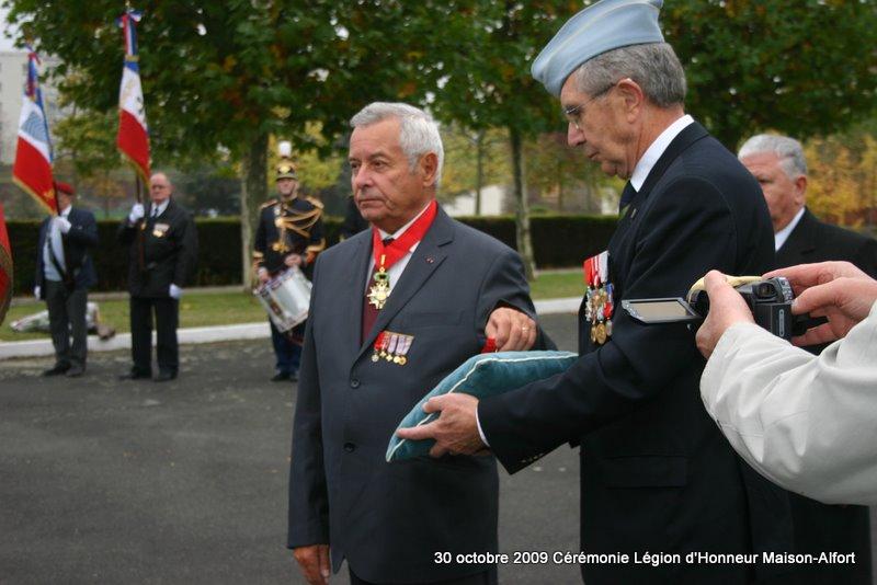 Cérémonie remise Légion d'Honneur Maison-Alfort 30 octobre 2009 Img_4913
