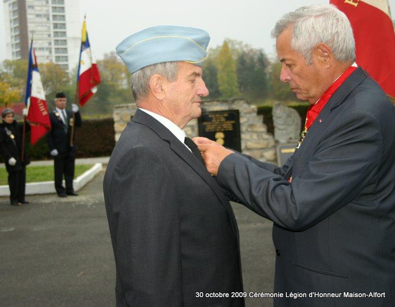 Cérémonie remise Légion d'Honneur Maison-Alfort 30 octobre 2009 Img_4914