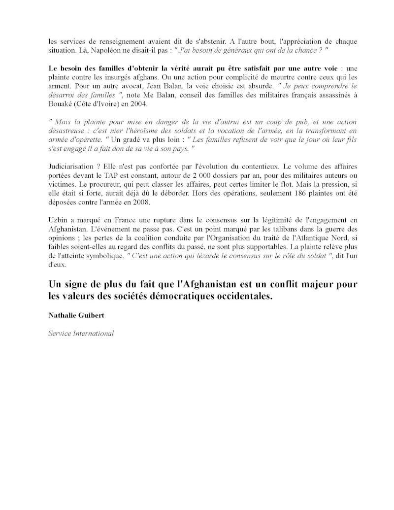 L'armée craint d'être victime de la judiciarisation de la société... Mise_e11