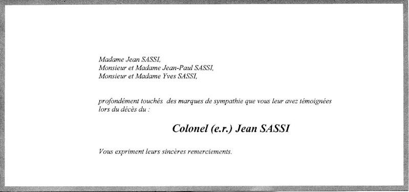 SASSI Jean colonel - Soldat de légende Sassi_10