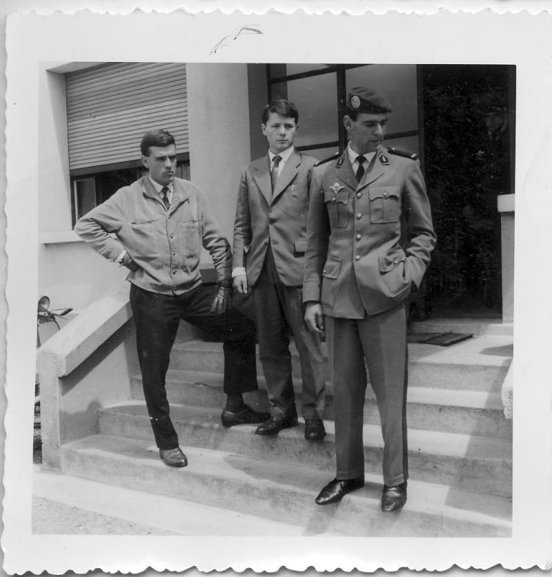 """EOR Bernard MILLET: """"parachuté"""" au 9e RCP, puis Cherchell, puis le 14e RCP, mais... Stage_10"""