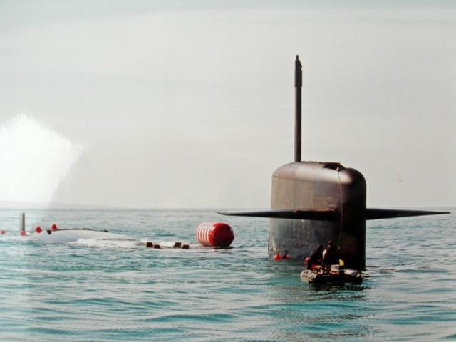 """Première plongée statique du SNLE  NG le """"VIGILANT"""" Dscn4420"""