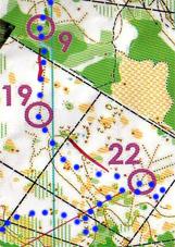Raid des étangs de Loury 25 octobre 410