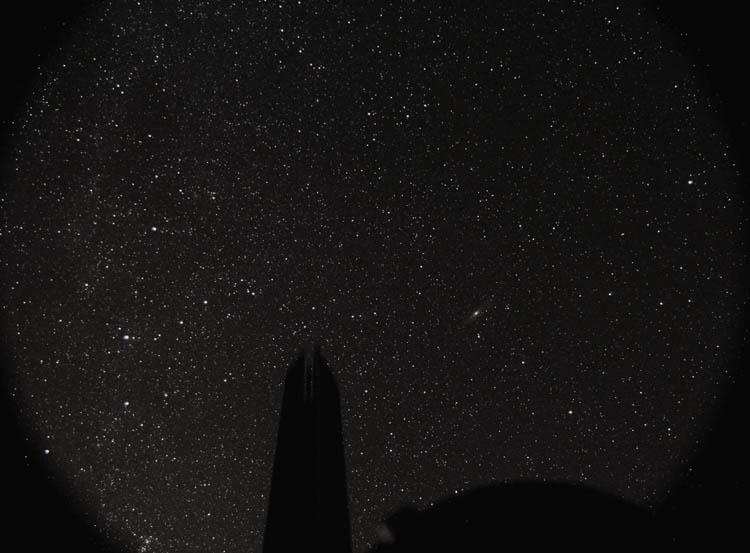 Ciel étoilé Androm11