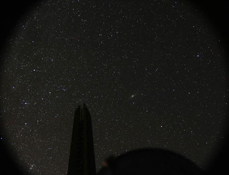 Ciel étoilé Androm12