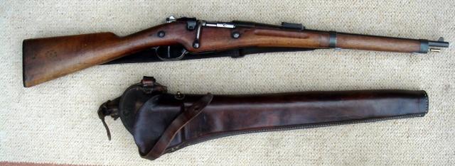 scabbard pour mousqueton 92 de cavalerie  Car-1811