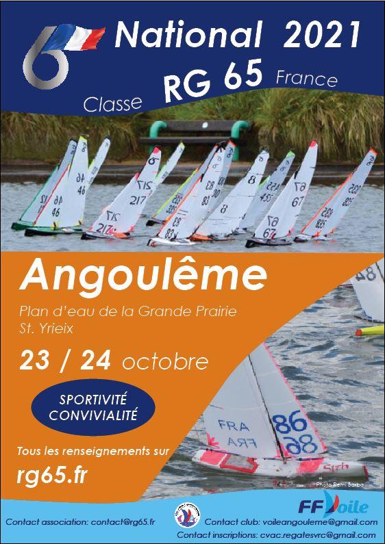 National RG 65 23-24 Octobre à Angouleme Affich11